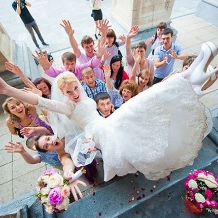 Проведение свадьбы, 5 часов (от 30 человек)