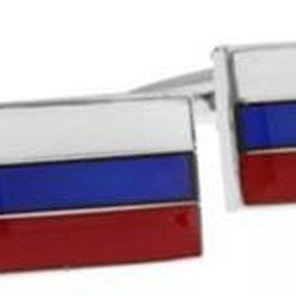 Запонки для мужчины в виде флага