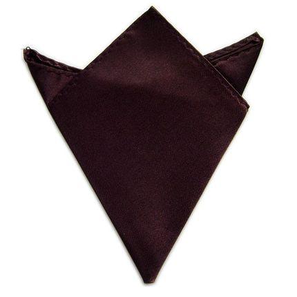 Нагрудный платок шоколадный