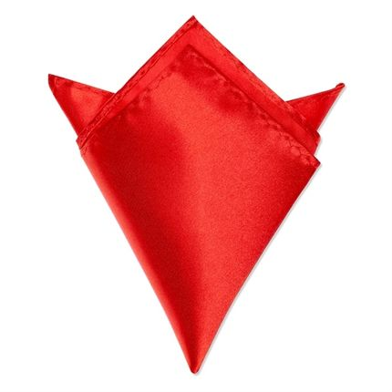 Нагрудный платок красный