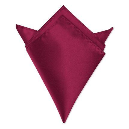 Нагрудный платок вишневый