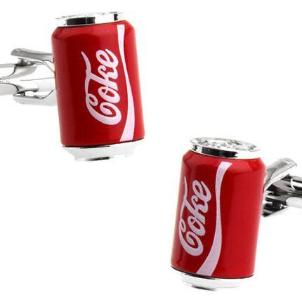 Запонки банка Кока-Кола