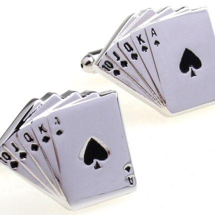 Запонки колода карт