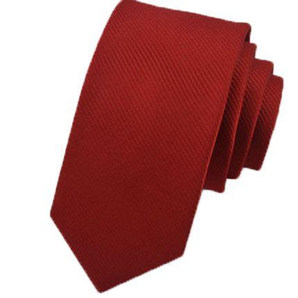 Галстук с полосами красный