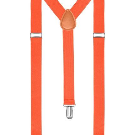 Подтяжки классические оранжевые