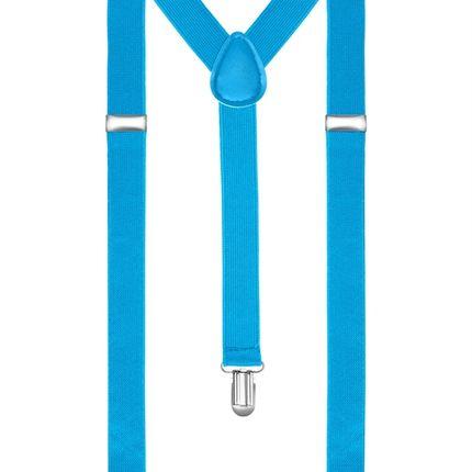 Подтяжки классические голубые