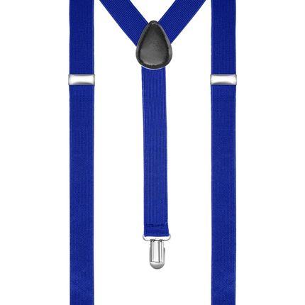 Подтяжки классические синие
