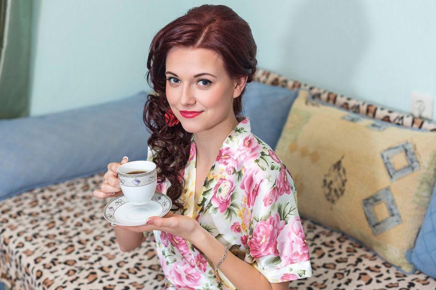 свадебная прическа и макияж - фото 13933186 Стилист Зинаида Галицкая