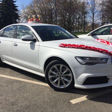 Аренда Audi A6 с водителем, цена за 1 час