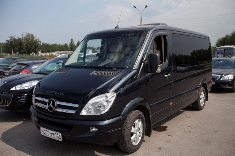 """- Mercedes Benz Sprinter (9+1 мест) - Салон комби: кожа. - Анатомические кресла установлены по направлению движения, откидывающиеся спинки на 90 %. Подлокотники. - Большое расстояние между креслами позволяет комфортно располажиться на дальние расстояния.  - фото 13986344 Транспортная компания """"Алмаз авто"""""""