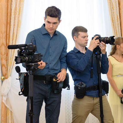 Видеосъёмка полного дня (два оператора), 12 часов
