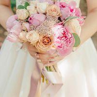 Букет невесты Виктории. Фотограф: Мари Булкина ()