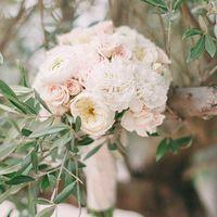 Букет невесты Ани. Фотограф: Марго Ермолаева ()