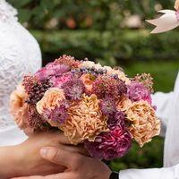 Букет невесты Алёны. Фотограф: Анна Миляева