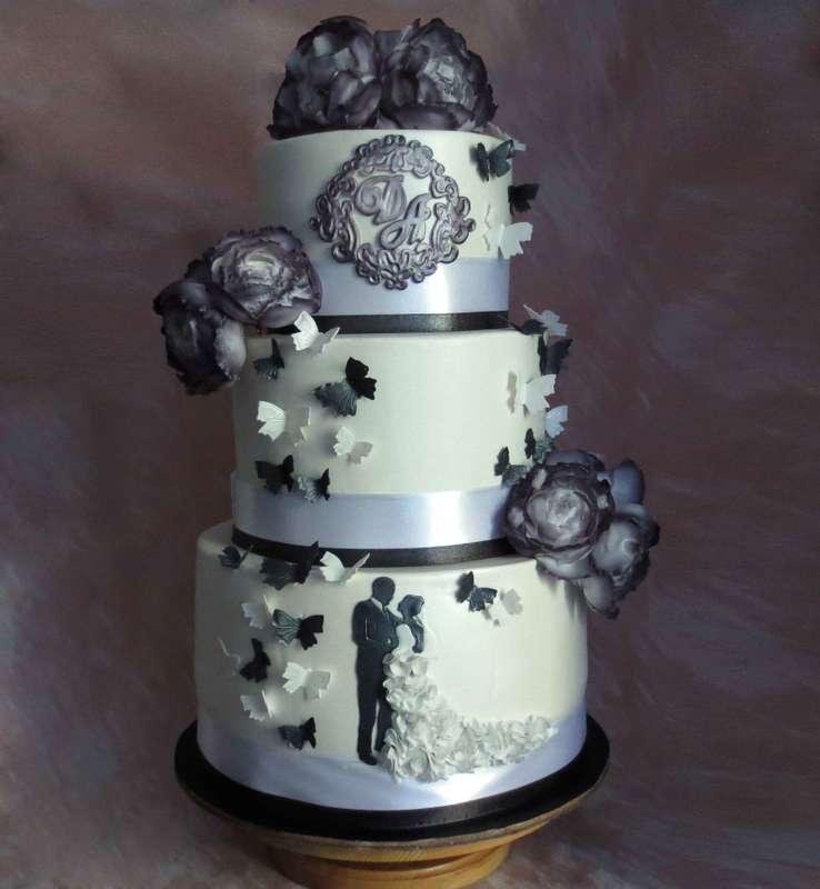 Торт Свадебный - фото 15074184 Кондитер Ирина К.