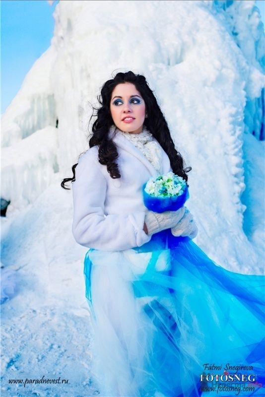 Фото 69504 в коллекции Зимний сказка или Парад невест в феврале - Стилист свадебного образа Летуновская Ольга