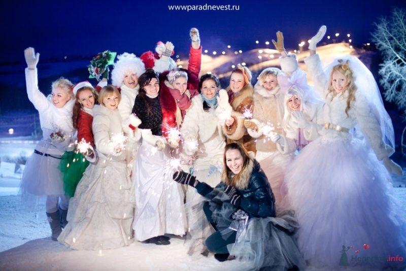 Фото 69534 в коллекции Зимний сказка или Парад невест в феврале - Стилист свадебного образа Летуновская Ольга