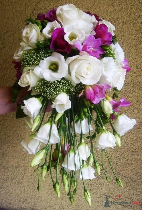 """Фото 35178 в коллекции букет невесты - Салон """"5 цветов"""""""