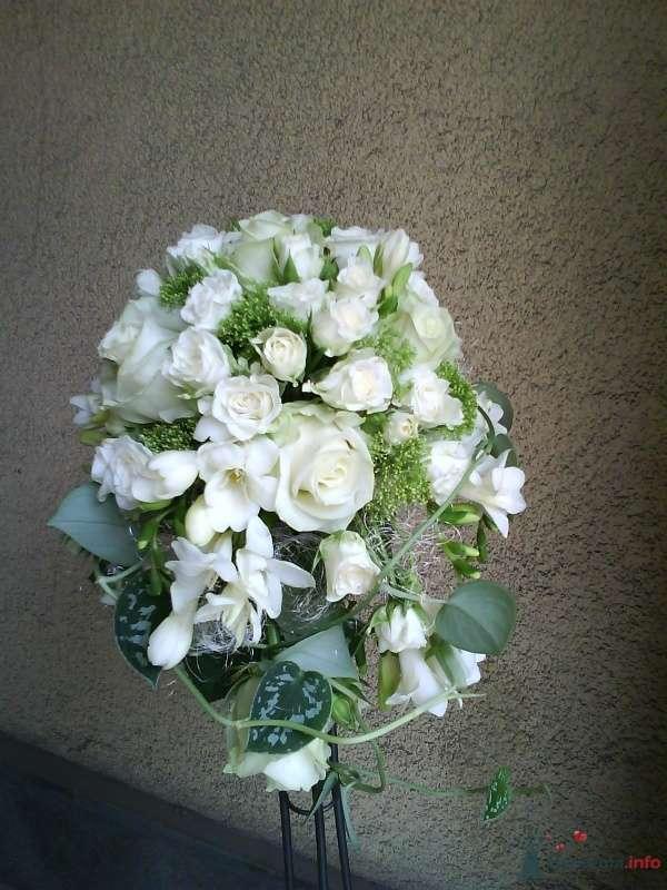 """Фото 35630 в коллекции букет невесты - Салон """"5 цветов"""""""