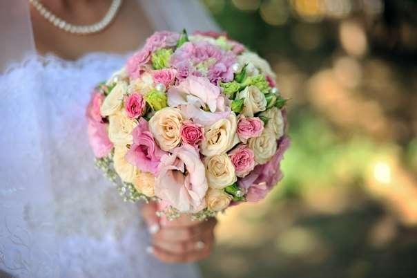"""Фото 14119438 в коллекции Свадебный букет. Букет невесты - Сеть флористических салонов """"Букетная мастерская"""""""