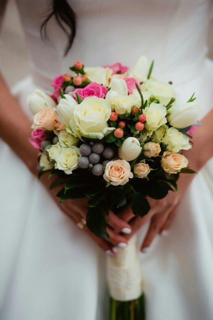 """Фото 15287526 в коллекции Свадебный букет. Букет невесты - Сеть флористических салонов """"Букетная мастерская"""""""