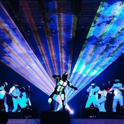 Laserman show - лазерное шоу