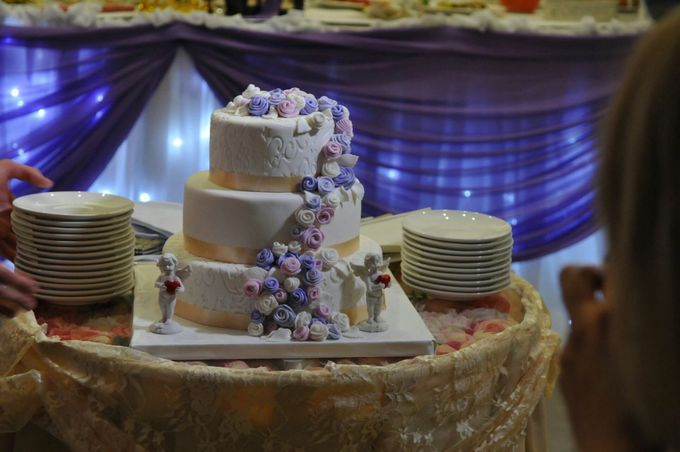 Свадебные торты на заказ волгоград фото