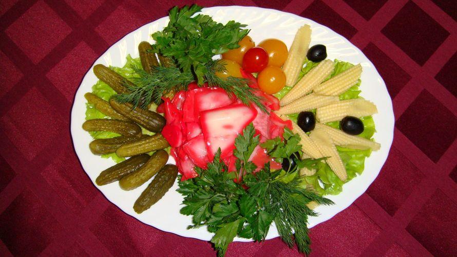 Рецепты холодных закусок из овощей
