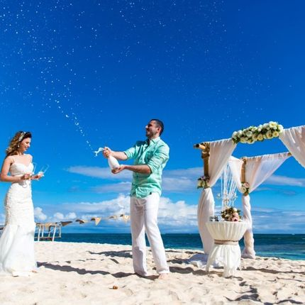 Свадебная церемония на частном пляже Амор