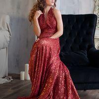 """Платье """"Красное кружево"""".  Размер 40-48 Стоимость проката 1000 руб. в день 350 руб. в час (минимум 2 часа)"""
