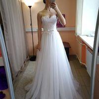 Свадебное платье: Элина Ткань:  кружево , фатин. Цвет: белый Цена: 19000 Это платье на сайте: