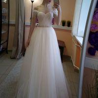 Свадебное платье: Каролина Ткань:  фатин Цвет: пудра/молоко Цена: 17500 Это платье на сайте: