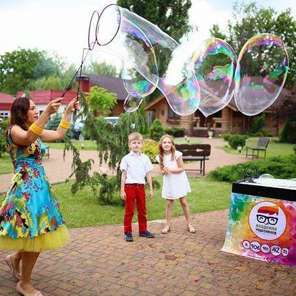 """Шоу мыльных пузырей - пакет """"Детский"""""""