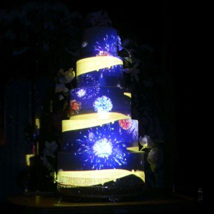 Световое шоу на торт + подарок