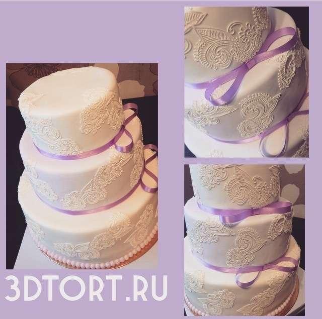 Фото 14338794 в коллекции Свадебные торты - Авторские торты от Анны Мочаловой