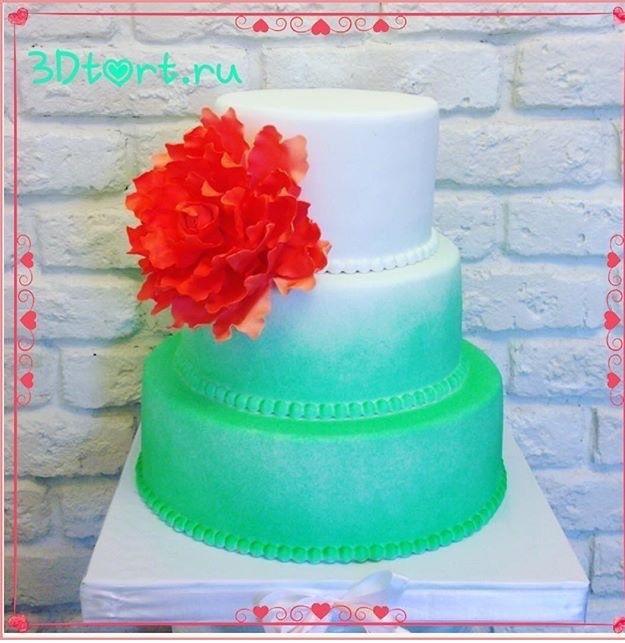 Фото 14338800 в коллекции Свадебные торты - Авторские торты от Анны Мочаловой