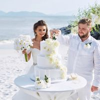 Свадебная церемония Екатерины и Дениса февраль 2017 Amiana on the Bay, г. Нячанг, Вьетнам организатор/координатор: Лилия Копьева фотограф Всеволод Кочерин видеограф Алексей Рязанцев макияж, прическа Баина Учаева