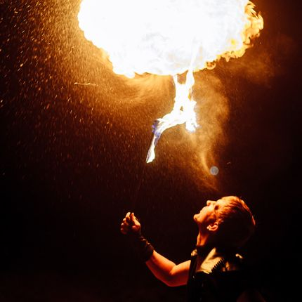 Огненное шоу театра «CLAY»