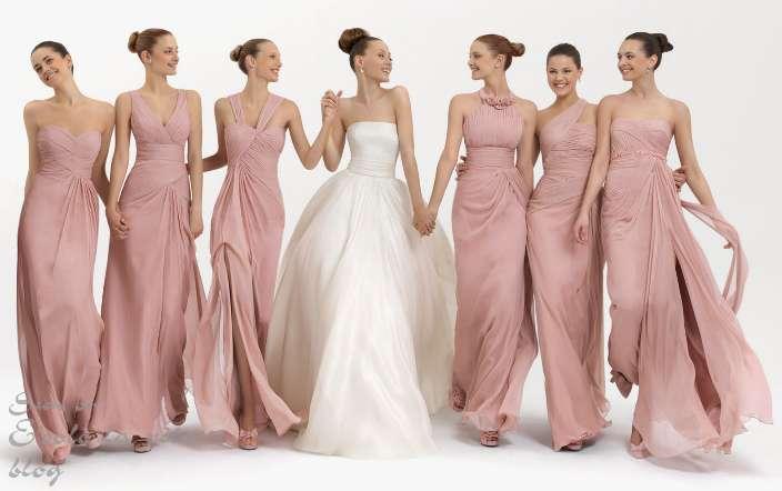 Невесты в длинных платьях