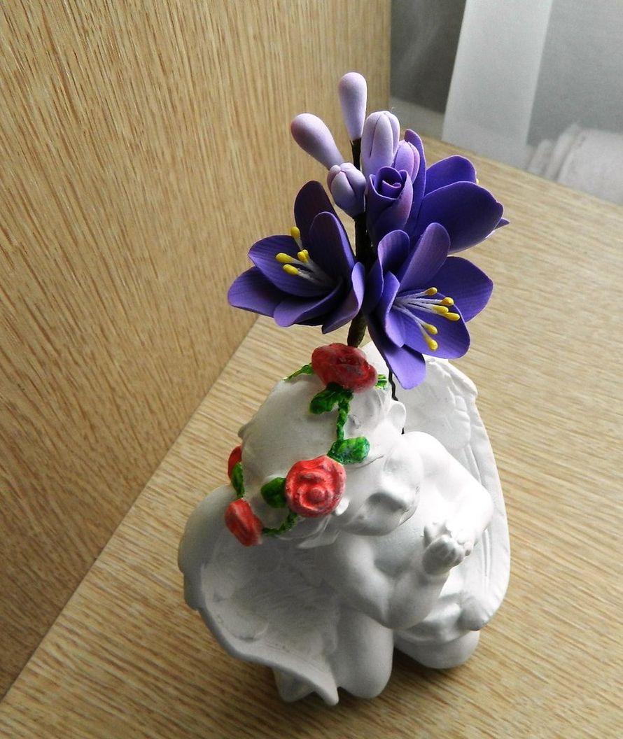 Шпилька для волос - фото 14463290 Свадебный декор от Ольги Луниной