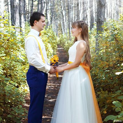 Свадебная прогулка не в день свадьбы