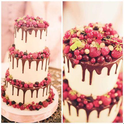 Торт с ягодами, 1 кг