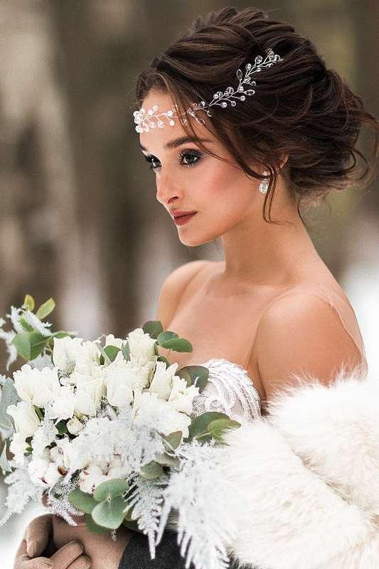 Фотограф:  Невеста и жених:   Образ невесты: я  Платье:  Флористика:  - фото 16551718 Стилист Екатерина Харченко