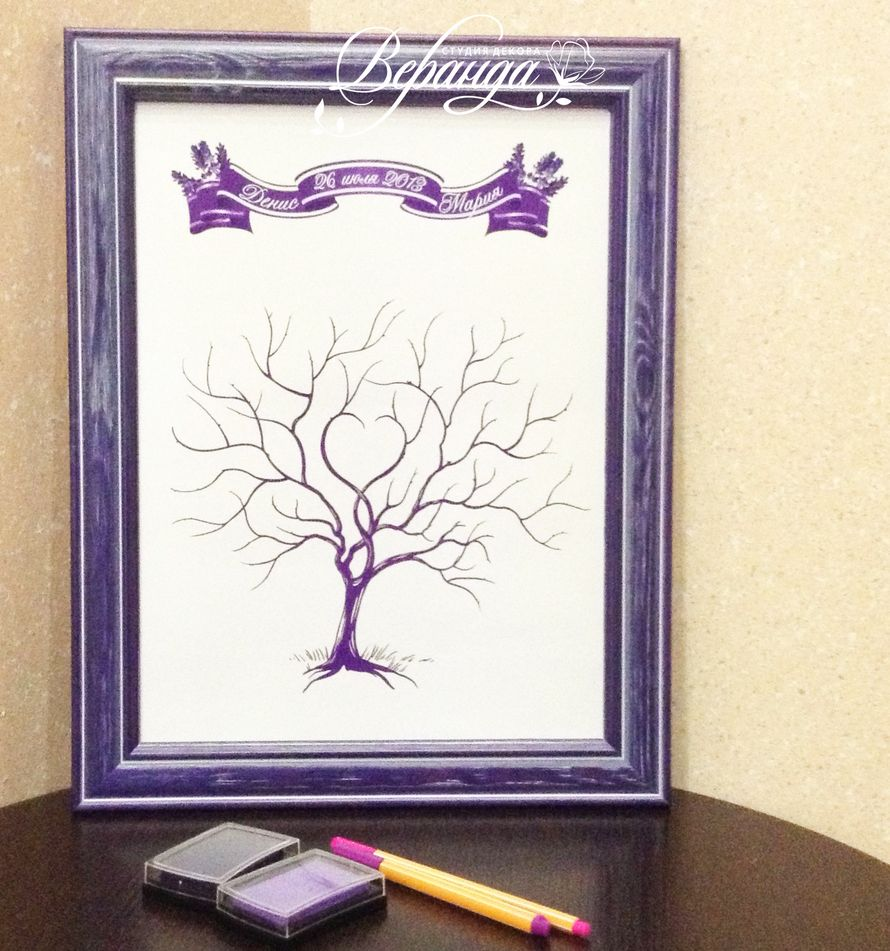 "дерево пожеланий для гостей - фото 1268901 Студия декора ""Веранда"""
