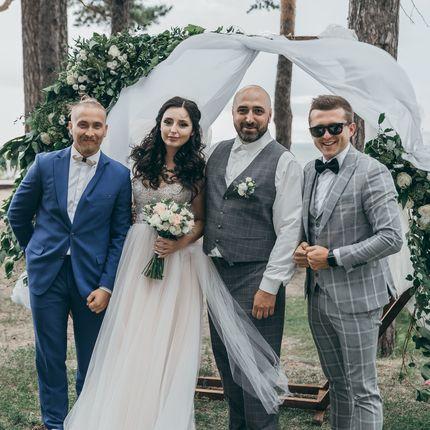 Проведение свадьбы + Dj + звук и свет, 5 часов