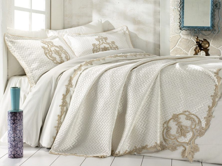 Фото 14544592 в коллекции Комплект постельное белье + покрывало - Магазин уюта Textilio
