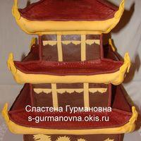 Пагода, 6,6кг, внутри чизкейк рафаэлло