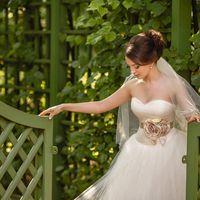 Невеста. Свадебная прогулка в Летнем саду