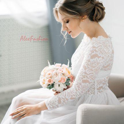 Аренда будуарного платья на утро невесты