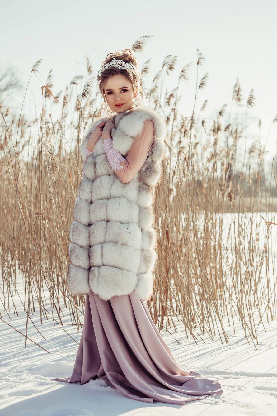 Даже зимой невесты прекрасны.... Фотограф Анастасия Андрешкова - фото 14686462 Фотограф Андрешкова Анастасия